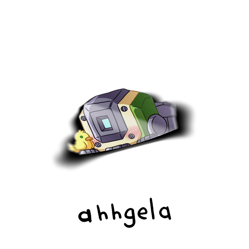 Bastion Peeking Sticker