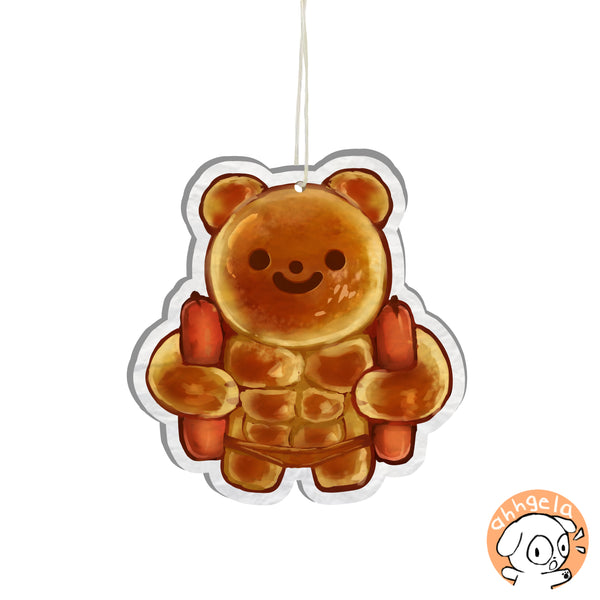 Sausage Bear Bun Air Freshener