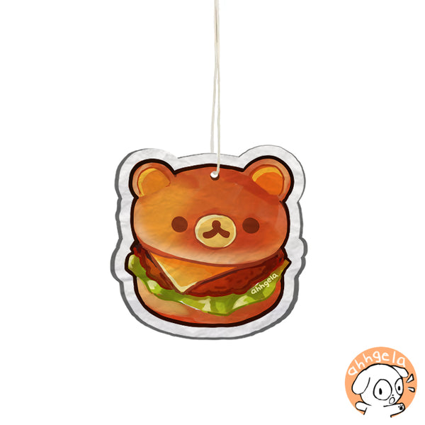 Bear Burger Air Freshener