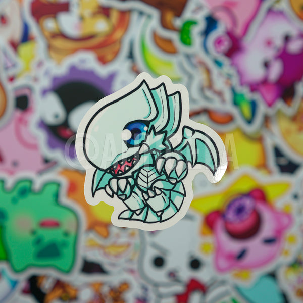 Blue Eyes Mini Sticker