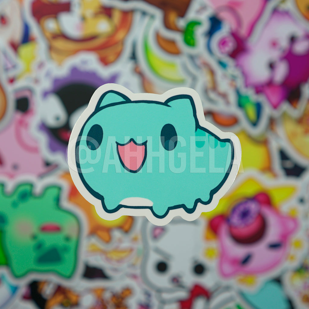 Bug Cat Mini Sticker