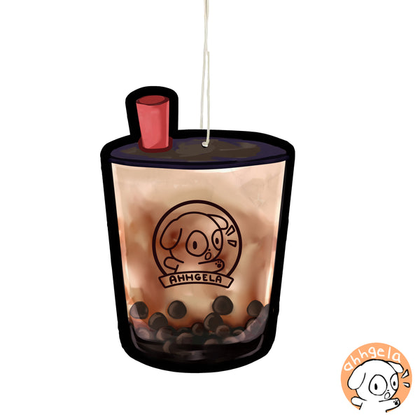 boba air freshener bubble tea air freshener