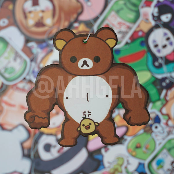 Buff Kuma Air Freshener
