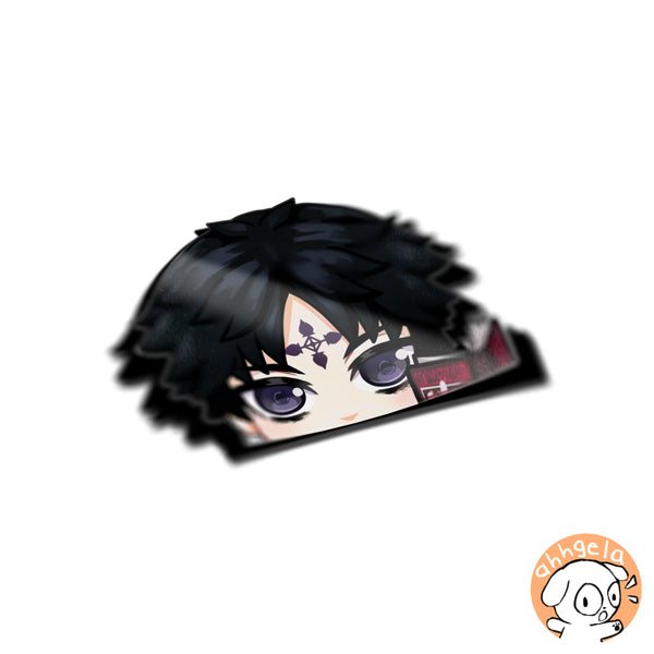 Lucifer Peeking Anime Sticker