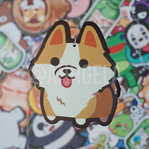 custom corgi air freshener
