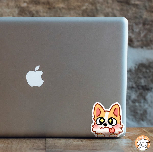 Corgi Mini Peeking Sticker