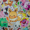 Brown Fox Mini Sticker