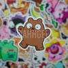 Grizz Mini Sticker