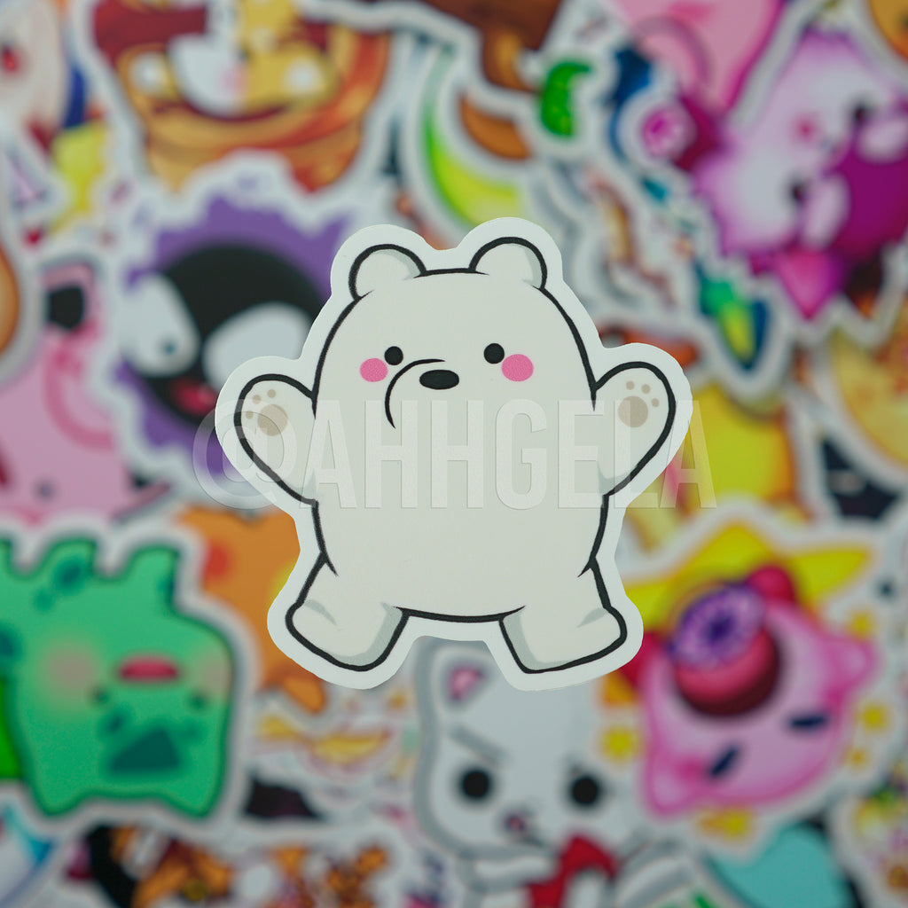 Ice Bear Mini Sticker