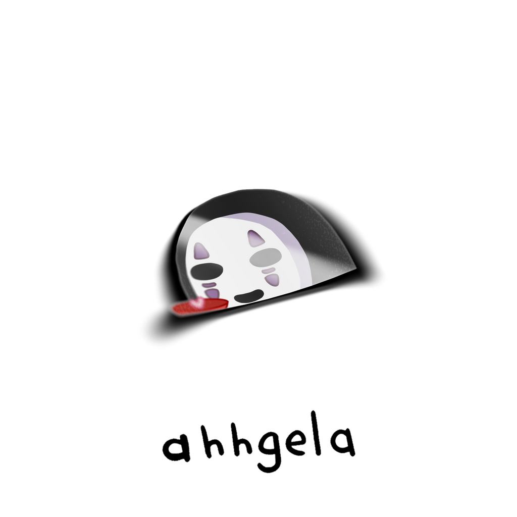 Noface Peeking Sticker