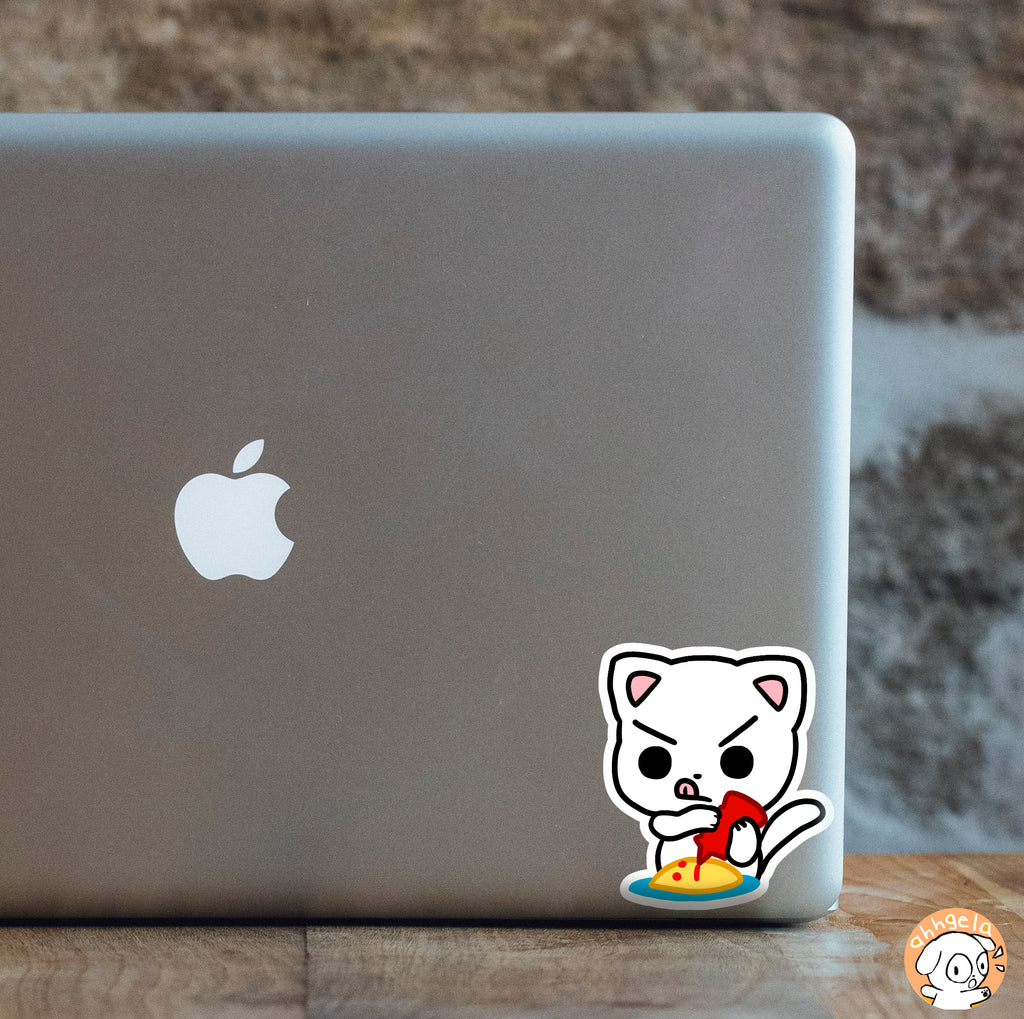 Omu Cat Mini Sticker