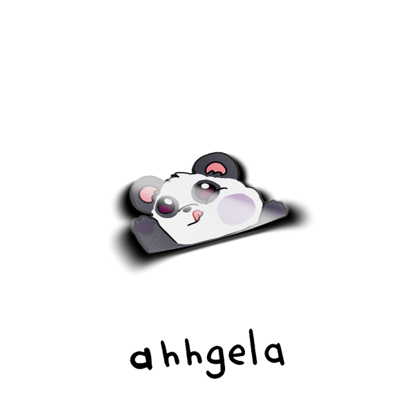 panda car decal cute sticker