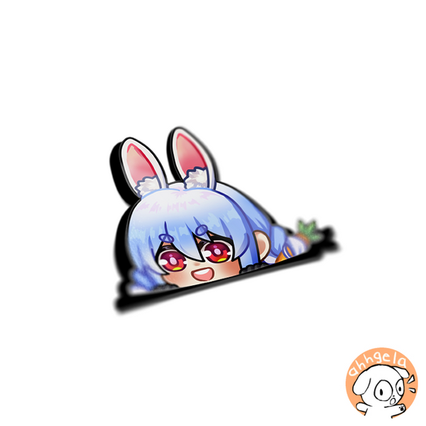 Pekora Peeking Sticker