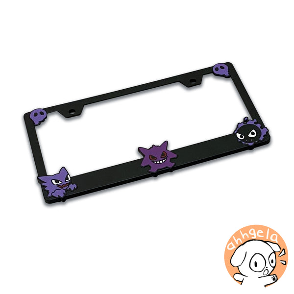 Ghost Gang License Plate Frame
