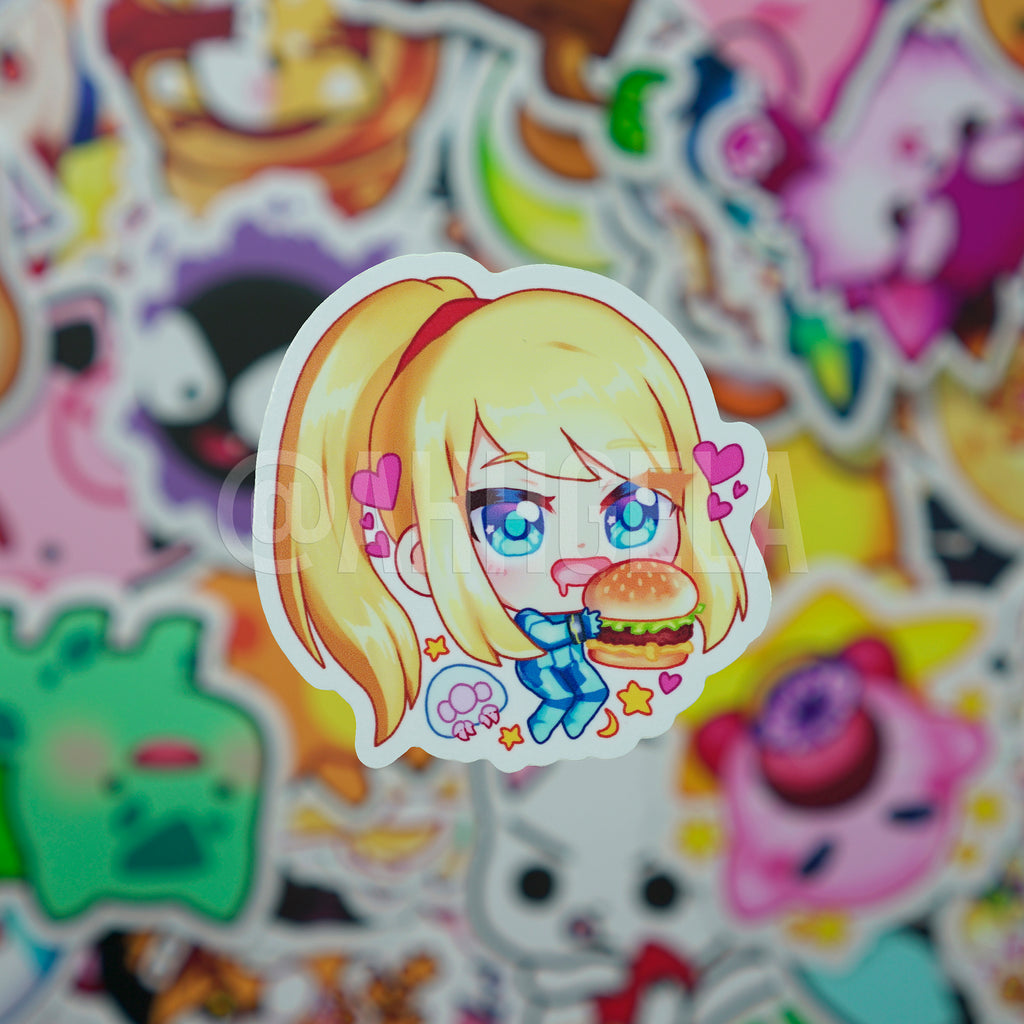 Samus Mini Sticker