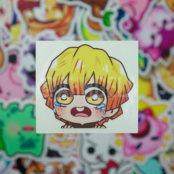 Cry Baby Mini Peeking Sticker