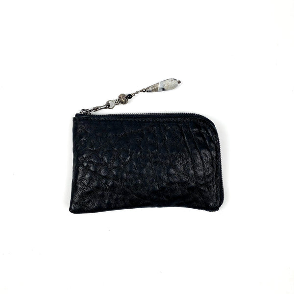 MINI WALLET - BLACK BUBBLY