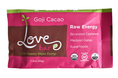 Goji Cacao Love Bars