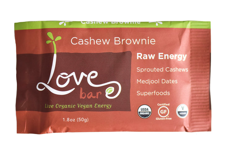 Cashew Brownie Love Bars