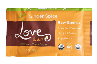 Ginger Spice Love Bars