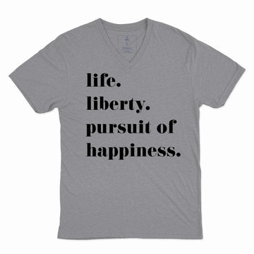 Life. Liberty. And the Pursuit of Happiness. | Adult Vees