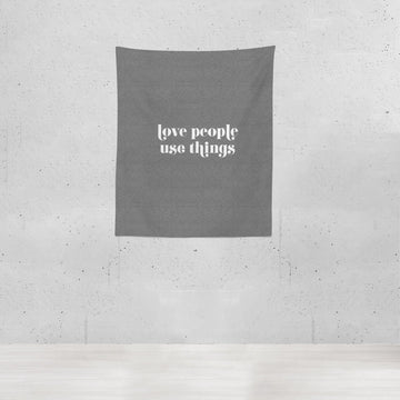 Love People Use Things | Blanket