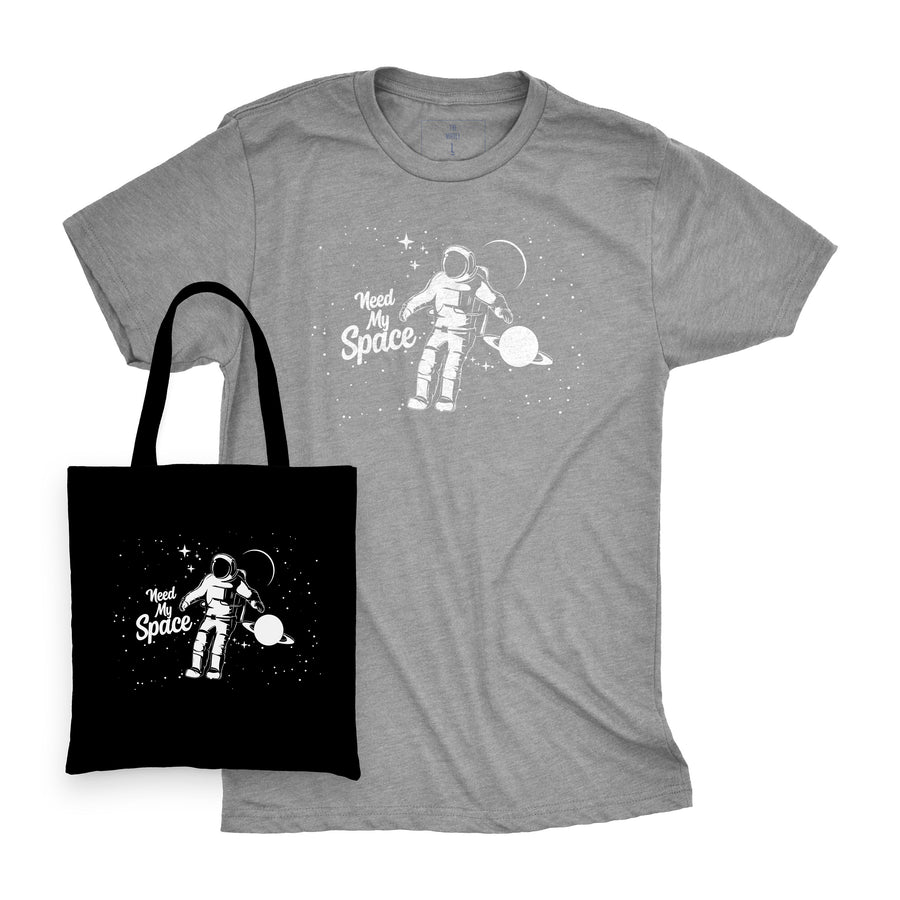 Need My Space | Tee and Tote Combo