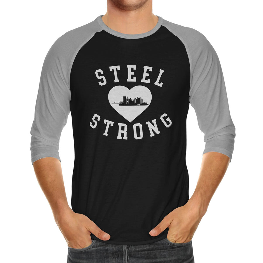 Steel Strong | Adult Unisex Raglan