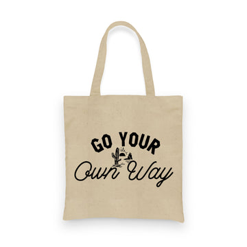 Go Your Own Way | Tote