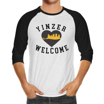 Yinzer Welcome  Adult Unisex Raglan