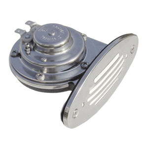 Schmitt & Ongaro Mini SS Single Drop-In Horn w-SS Grill - 12v High Pitch