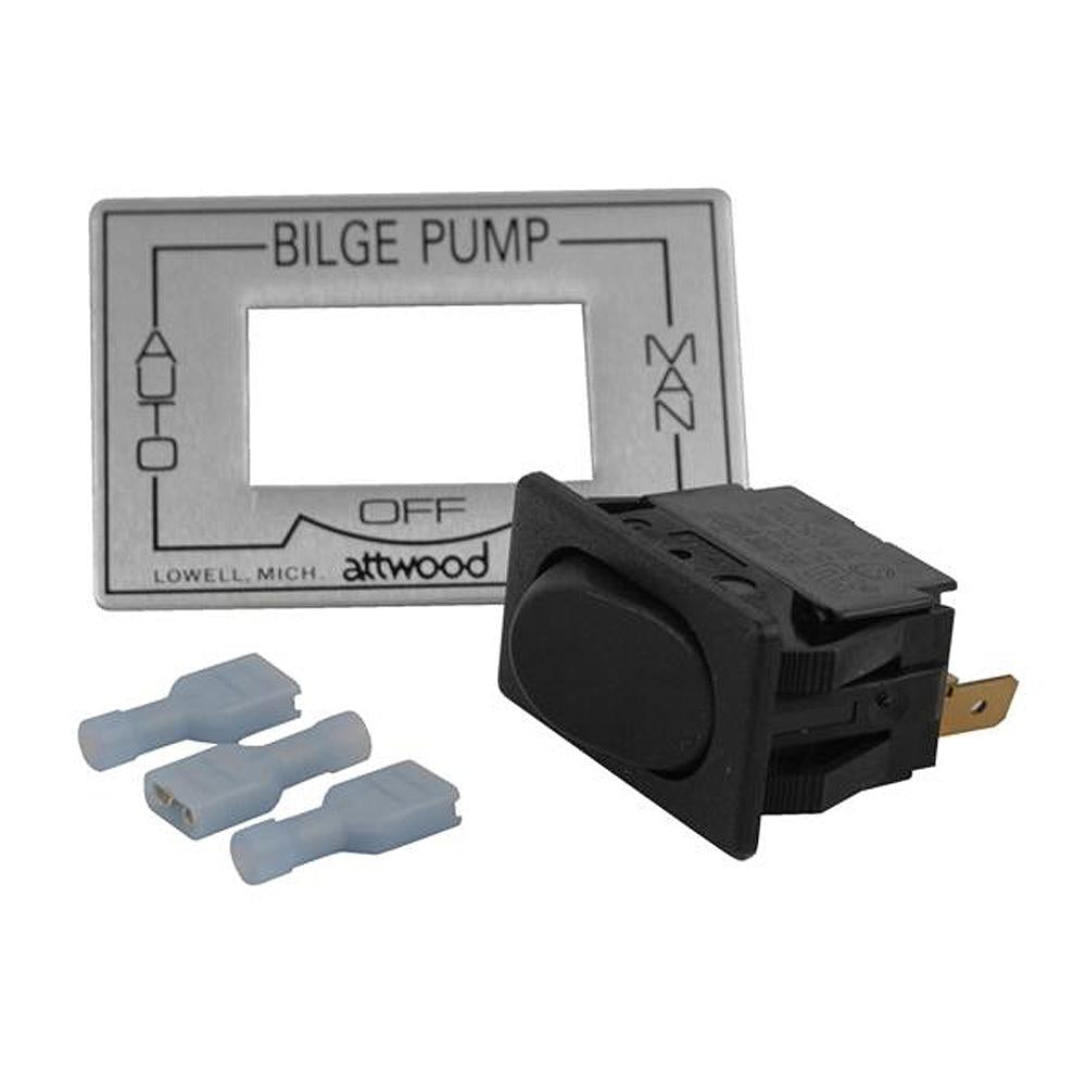 Attwood 3-Way Auto-Off-Manual Bilge Pump Switch