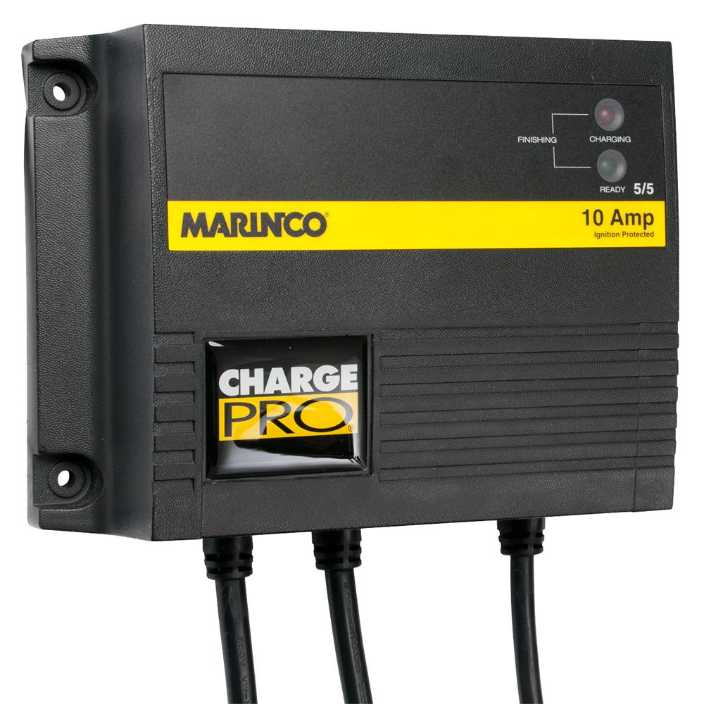 Marinco 10A On-Board Battery Charger - 12-24V - 2 Banks