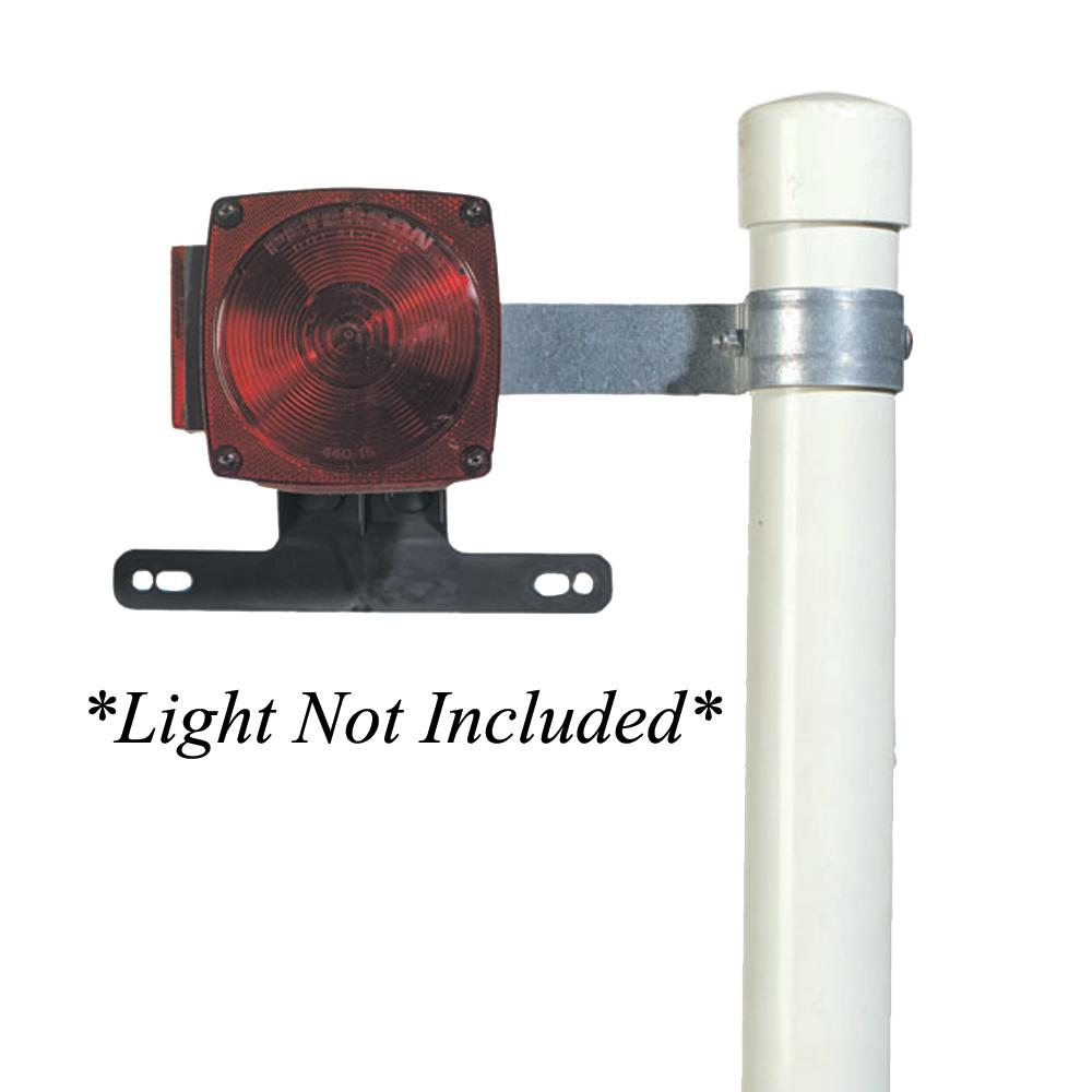 C.E. Smith Tail Lamp Brackets f-Post Style Guide-Ons