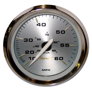 "Faria Kronos 4"" Speedometer - 60MPH (Mechanical)"