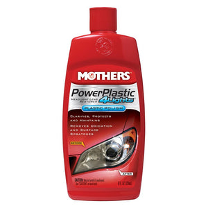 Mothers PowerPlastic 4Lights® Plastic Polish - 8oz