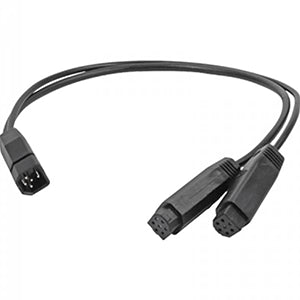 Humminbird 9 M SILR Y Dual Side Image Transducer Adapter Cable f-HELIX