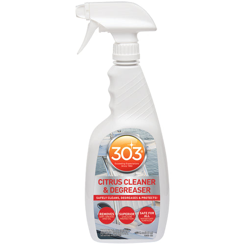 303 Marine Citrus Cleaner & Degreaser w-Trigger Sprayer - 32oz