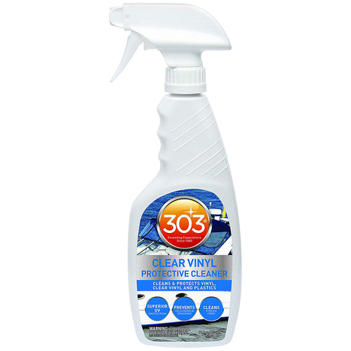 303 Marine Clear Vinyl Protective Cleaner w-Trigger Sprayer - 16oz