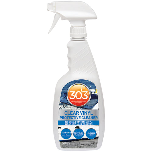 303 Marine Clear Vinyl Protective Cleaner w-Trigger Sprayer - 32oz