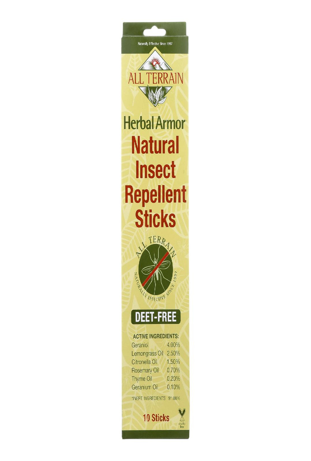 All Terrain Herbal Armor - Sticks - 10 Count