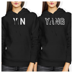 Ying And Yang BFF Hoodies Friendship Matching Hooded Sweatshirts