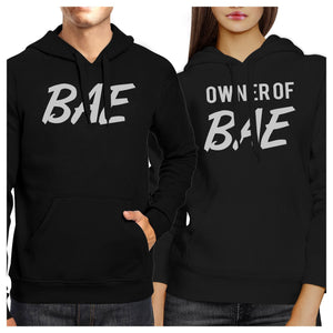 Bae And Owner Of Bae Matching Couple Black Hoodie