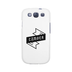 Camper White Phone Case Trendy Design Gifts For Mountain Lovers