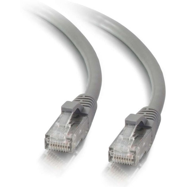 C2G-200ft Cat5e Snagless Unshielded (UTP) Network Patch Cable - Gray