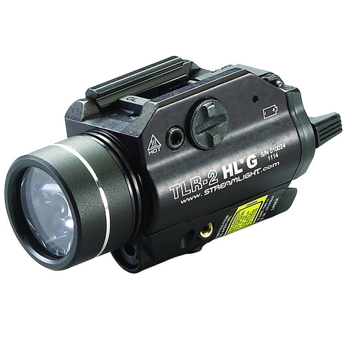 Streamlight TLR-2HL-G Mounted Rail Flashlight w- Green Laser
