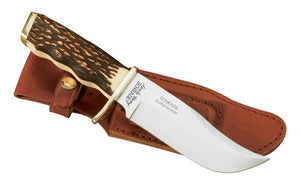 Uncle Henry Large Pro Hunter Rat Tail Tang Fixed Blade Knife