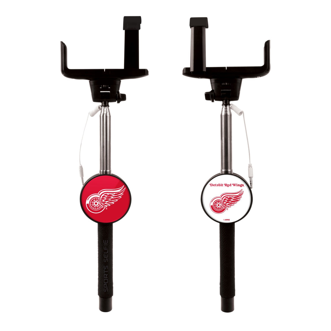 Mizco Detroit Red Wings Sports Selfie Stick