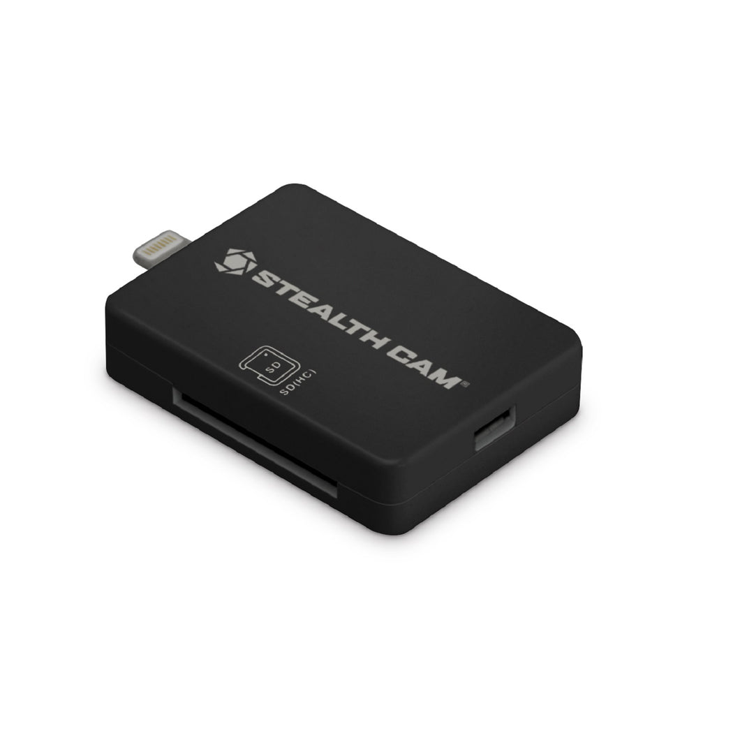 Stealth Cam iOS Memory Card Reader