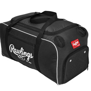Rawlings Covert Baseball or Softball Bat Duffel Bag-Black